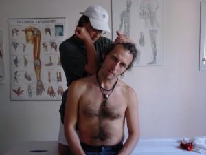 Triggerpunkttherapie im Einsatz